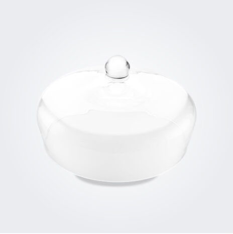Glass Cake Stand Heart Dome