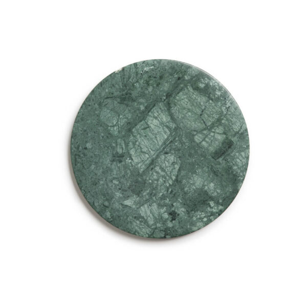 Guatemalan green marble tray product photo.
