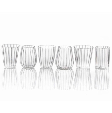 Line Clear Glassware Set