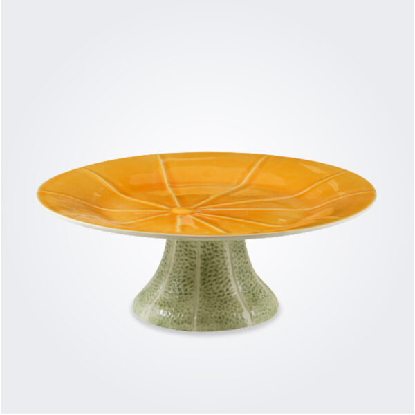 Melon cake stand product picture.