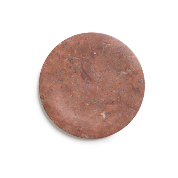 Mexican red marble tray product picture.