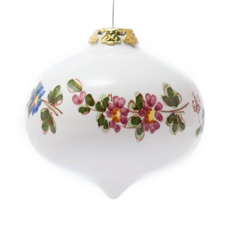 WHITE ONION CHRISTMAS BAUBLES SET