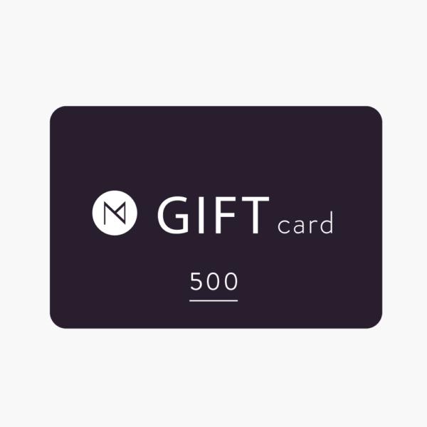 Gift card 500 maison numen.