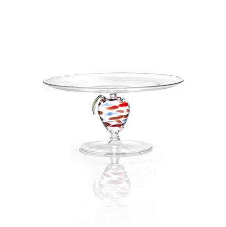 APPLE GLASS CAKE STAND