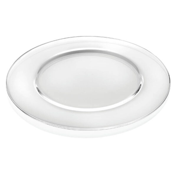 ARIA CLEAR CHARGER PLATE