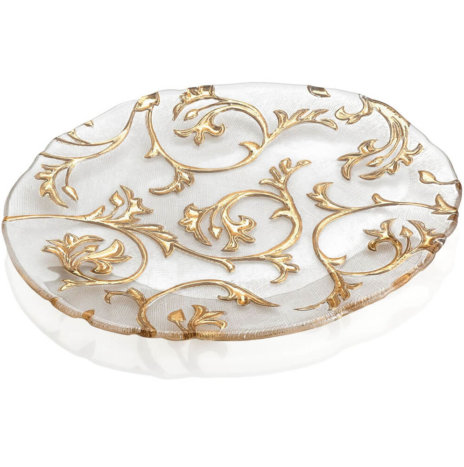 BISANZIO CLEAR & GOLD CENTERPIECE (Medium)