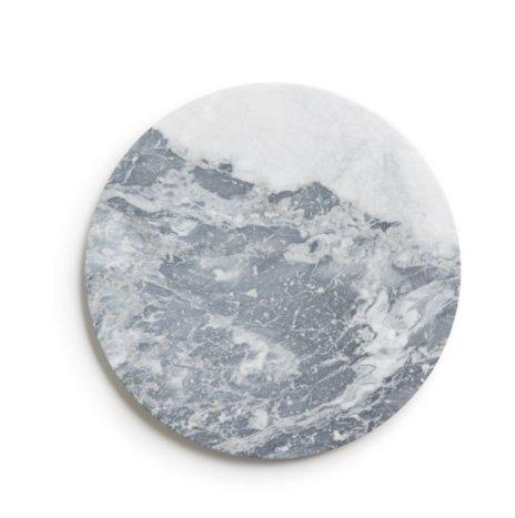 Bardiglio Gray Marble Tray
