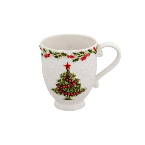 CHRISTMAS TREE MUG SET