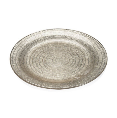 ESPIRAL SAND CHARGER PLATE