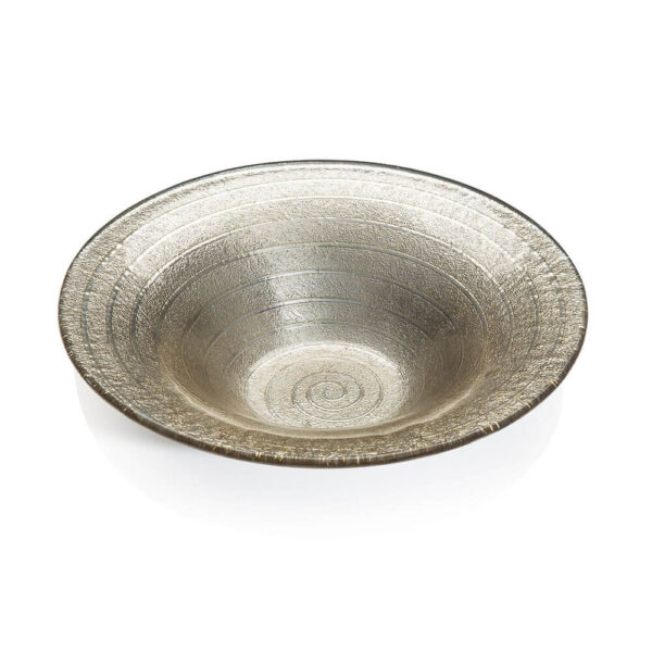 Espiral sand decorative bowl medium.