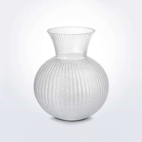Small Ophelia Clear Glass Vase