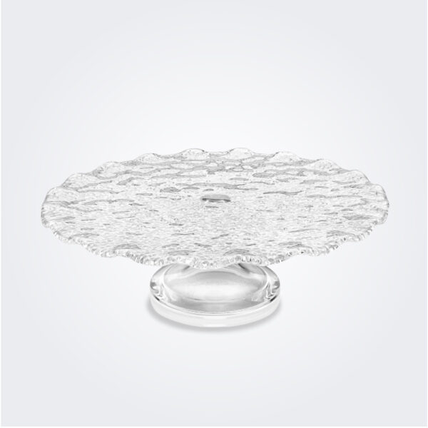 Special clear cake stand medium photo product.