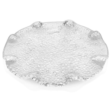 SPECIAL CLEAR DESSERT PLATE