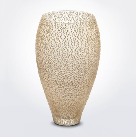 Special Golden Glass Vase
