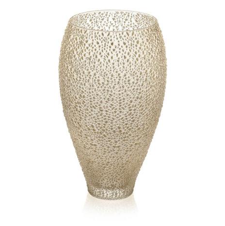 SPECIAL GOLDEN GLASS VASE