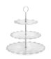 Three - Tier Glass Server
