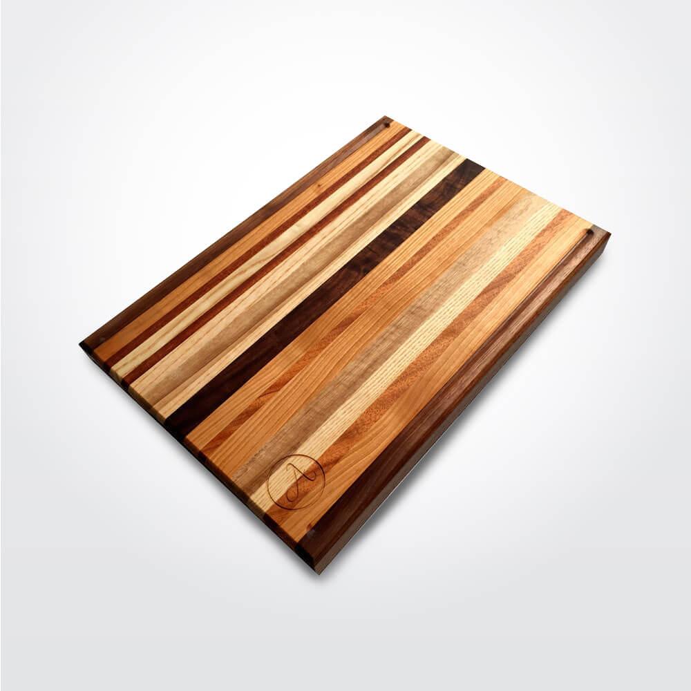 Cutting Board: Motley Wooden Cutting Board