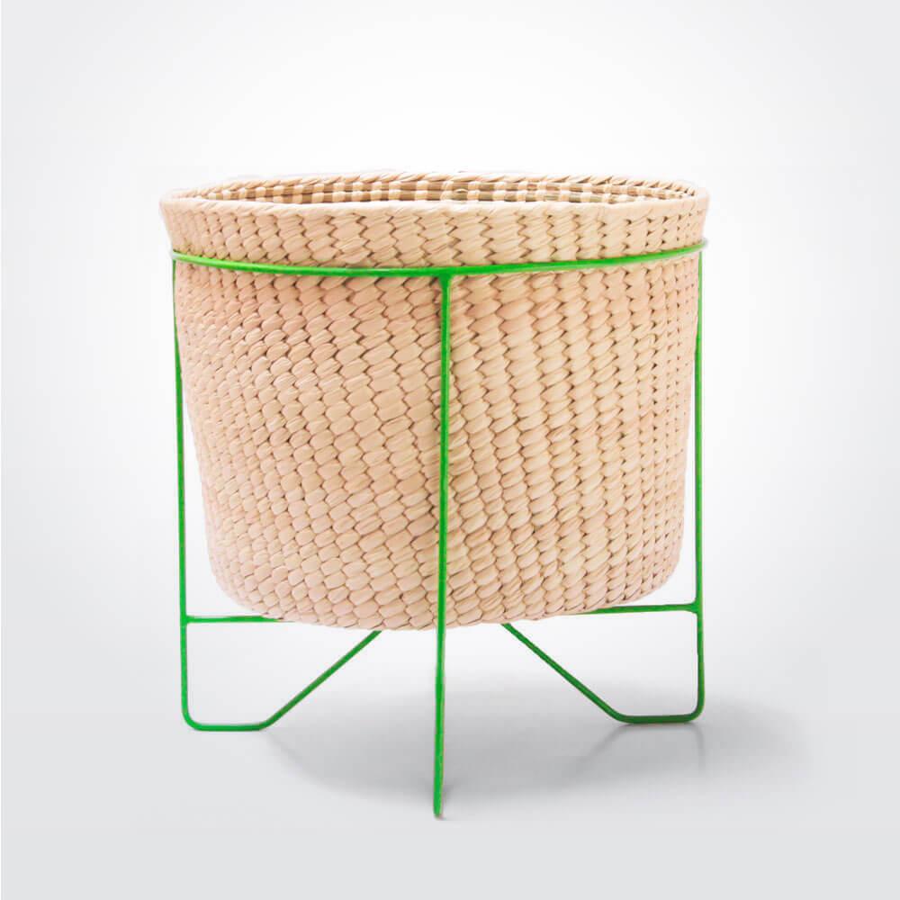 Palm-leaf-basket-w-green-stand-large-1-1