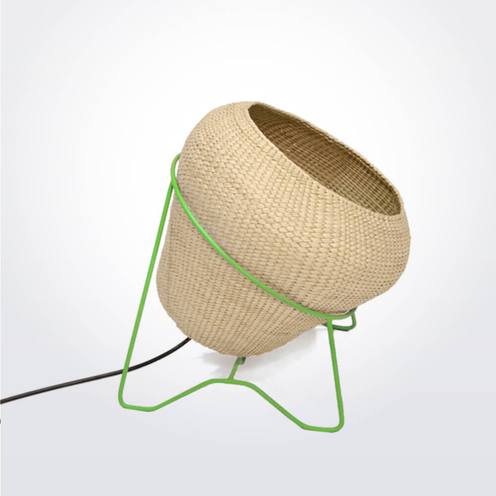 Palm-leaf-lamp-with-green-stand-3.