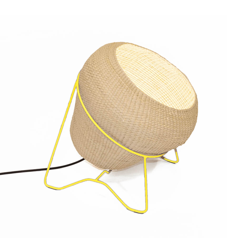 Palm-leaf-lamp-with-yellow-stand-2.