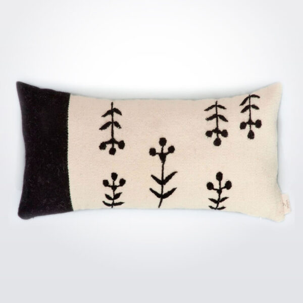 Piante wool pillow cover.