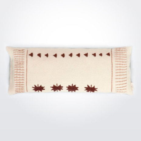 Quadrifoglio Wool Pillow Cover