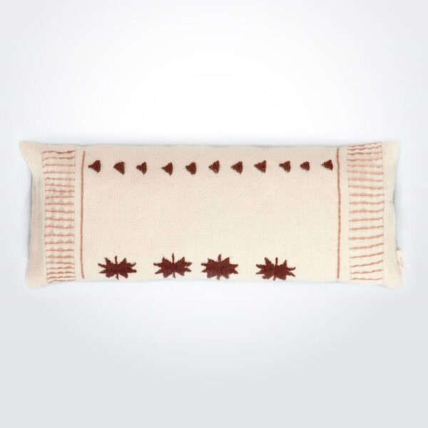 Quadrifoglio wool pillow cover.