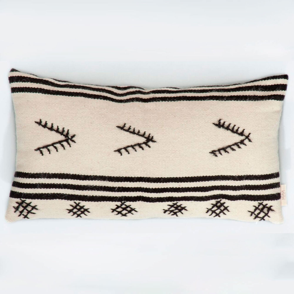 SPIAGGIE NATURAL WOOL PILLOW COVER (1)