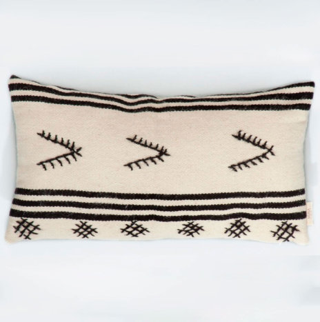 SPIAGGIE NATURAL WOOL PILLOW COVER
