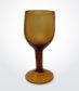 Amber Wine Glass Set
