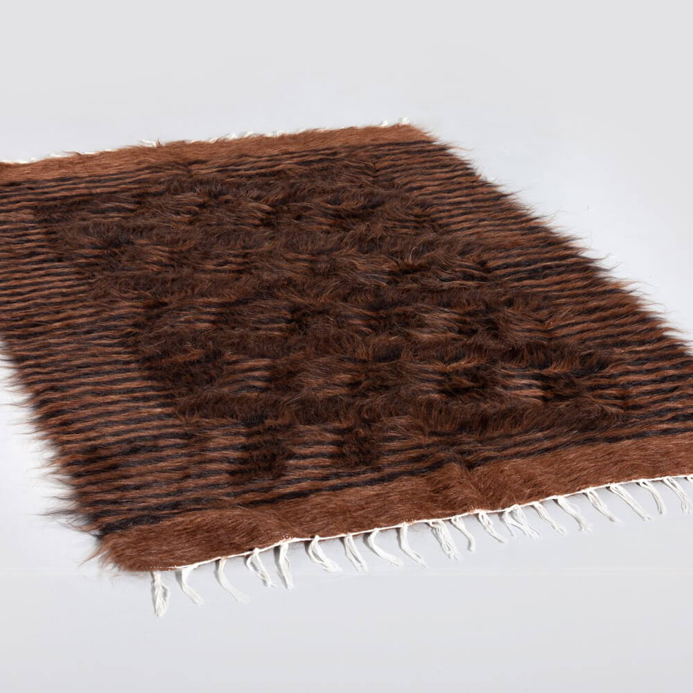 Brown-and-black-striped-wool-rug-2