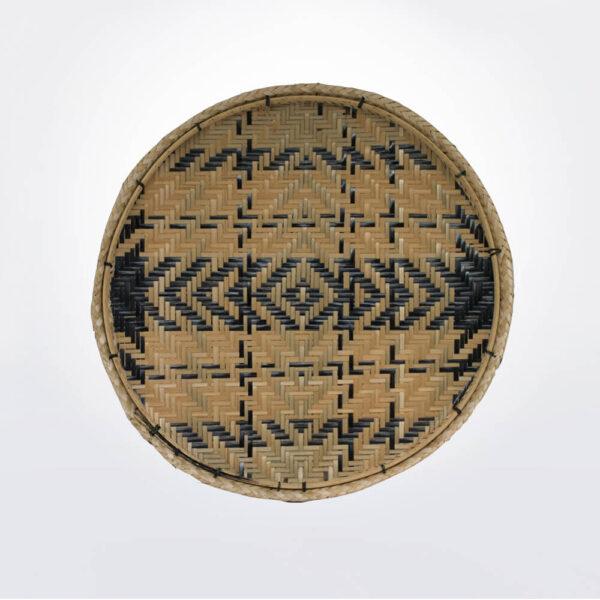 Amazonian fiber tray XII.