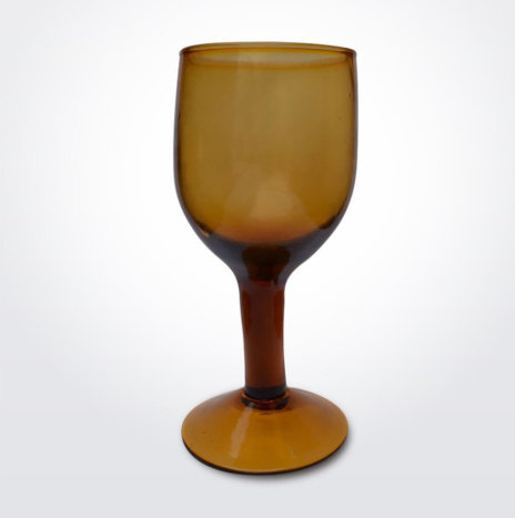 AMBER WINE GLASS SET