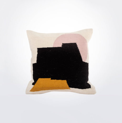 Castle Wool Pillow Cover
