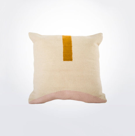 Geometric Wool Pillow Cover