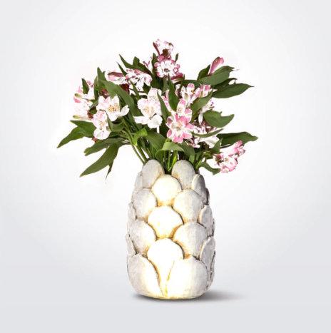 Gray Clay Vase