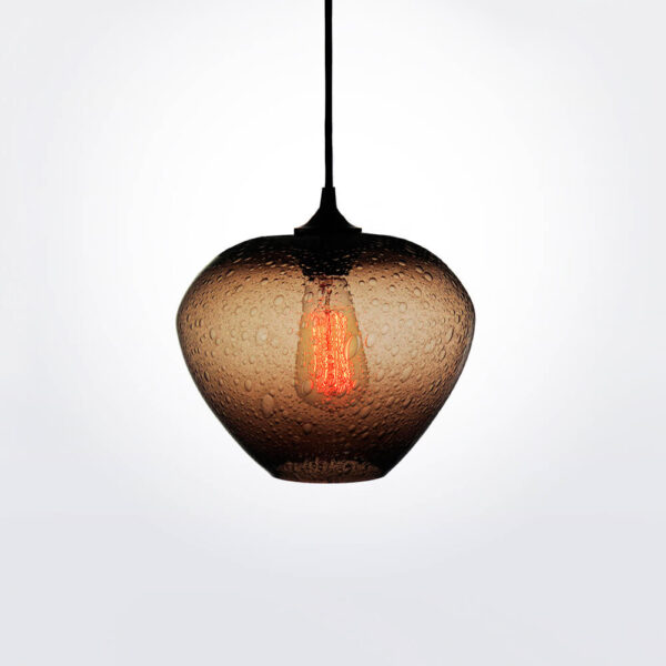 Rustica brown pendant lamp.