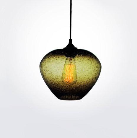 Rustica Olive Pendant Lamp