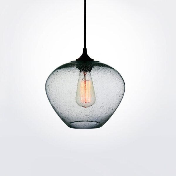 Rustica transparent pendant lamp.