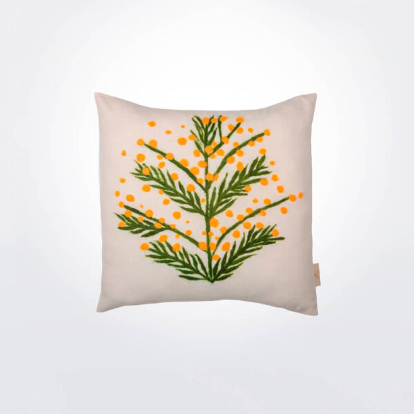 Mimosa wool pillow cover.