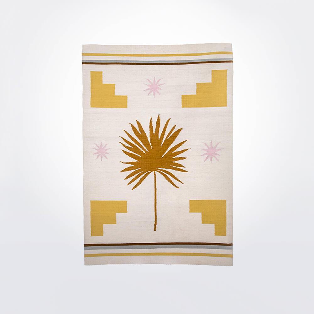 Palm-wool-rug