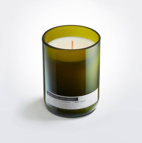 WINE BOTTLE WILD MOOD CANDLE