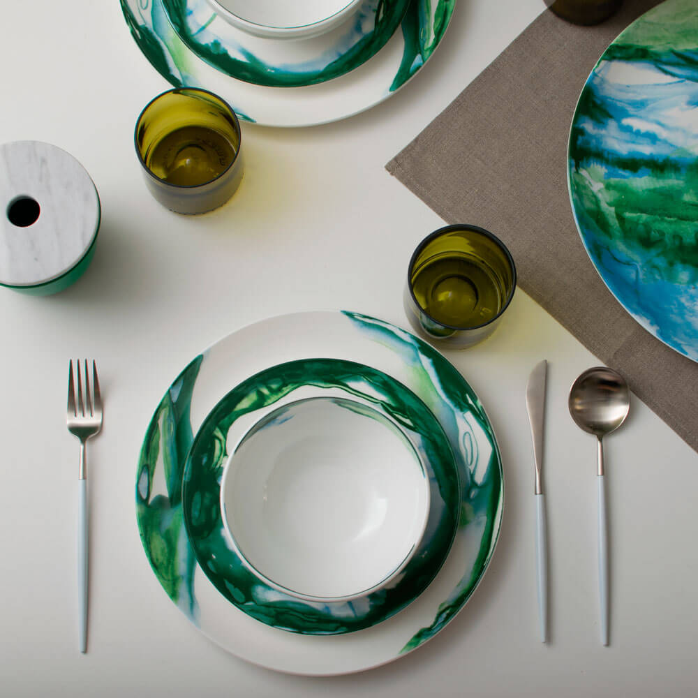 Green-white-water-marble-salad-plate-3