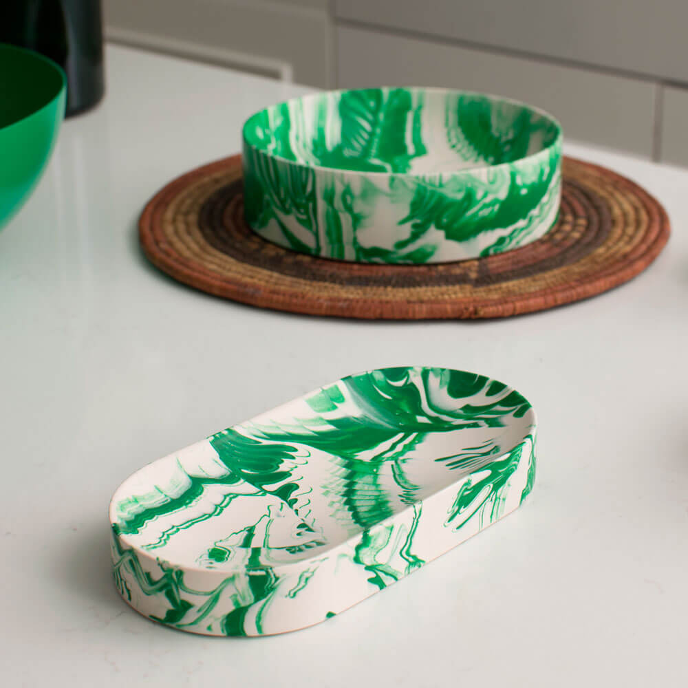 Green-white-water-marble-oval-tray-(5)
