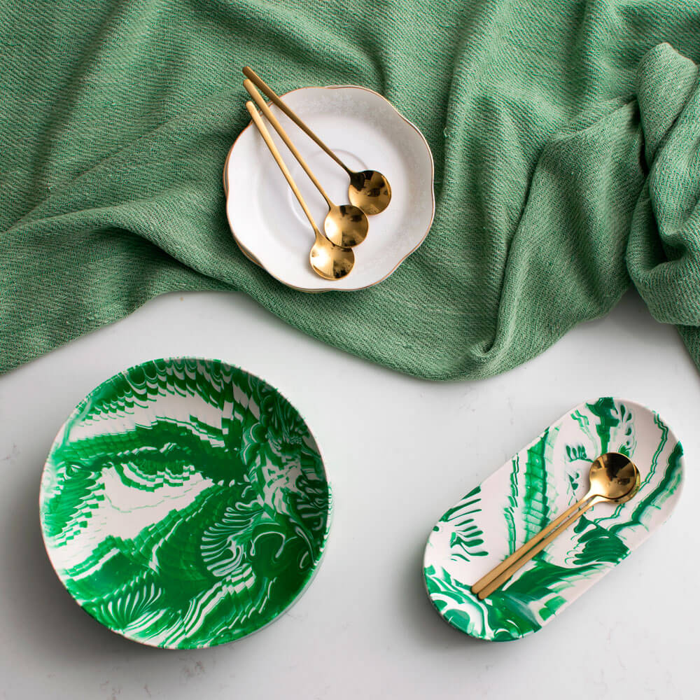 Green-white-water-marble-oval-tray-(6)