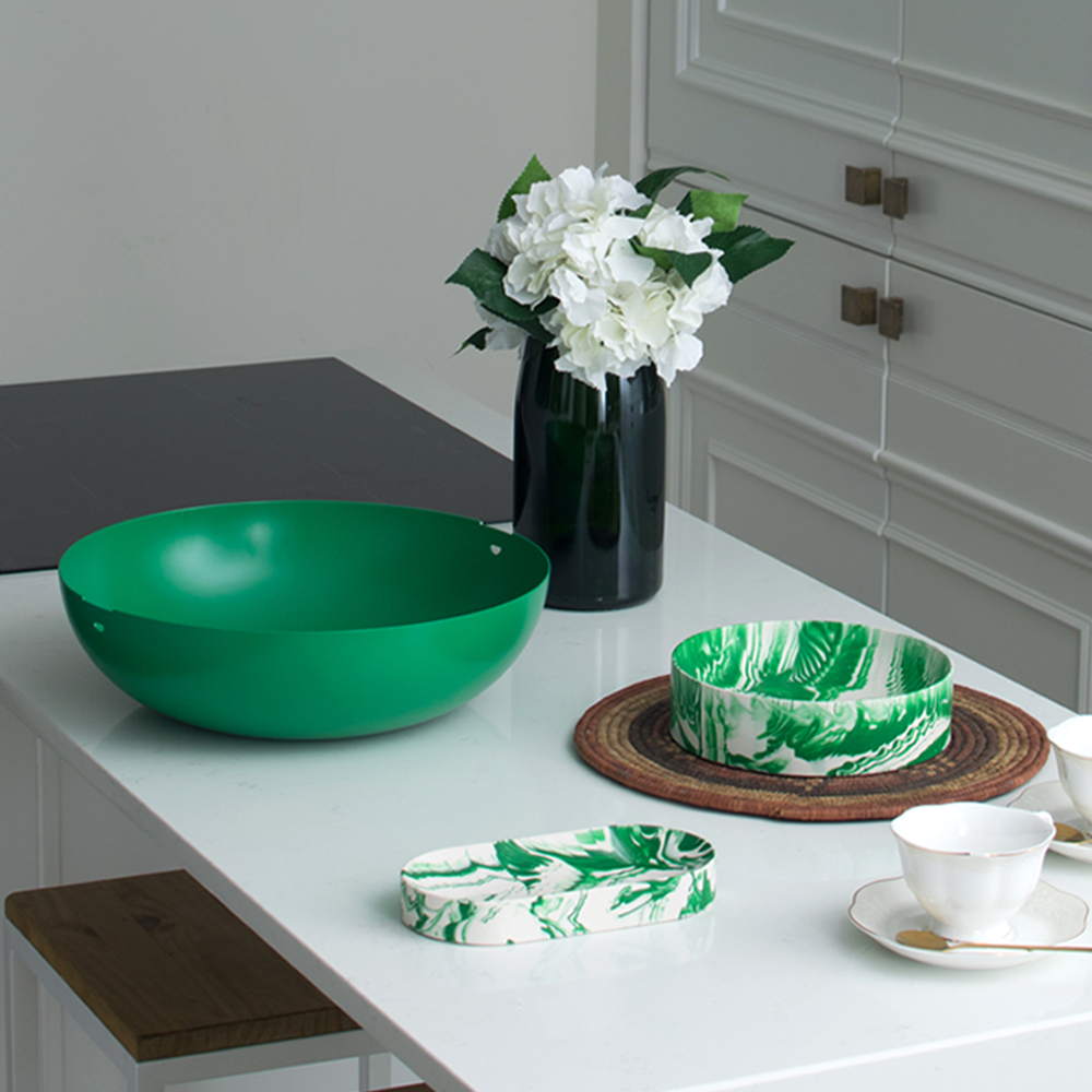Green-metal-bowl-2