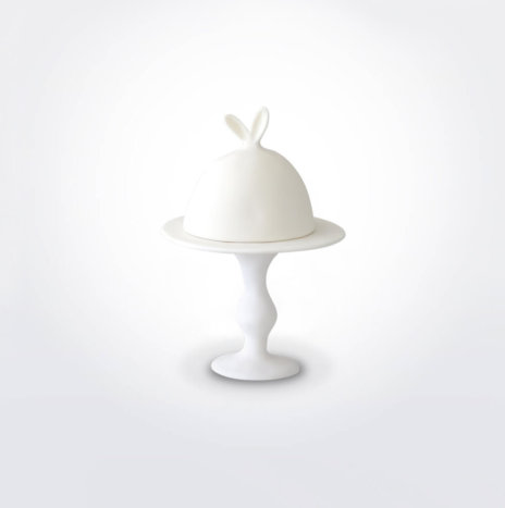 EASTER CAKE STAND WITH DOME SET