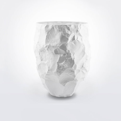 Crockery White Vase (Large)
