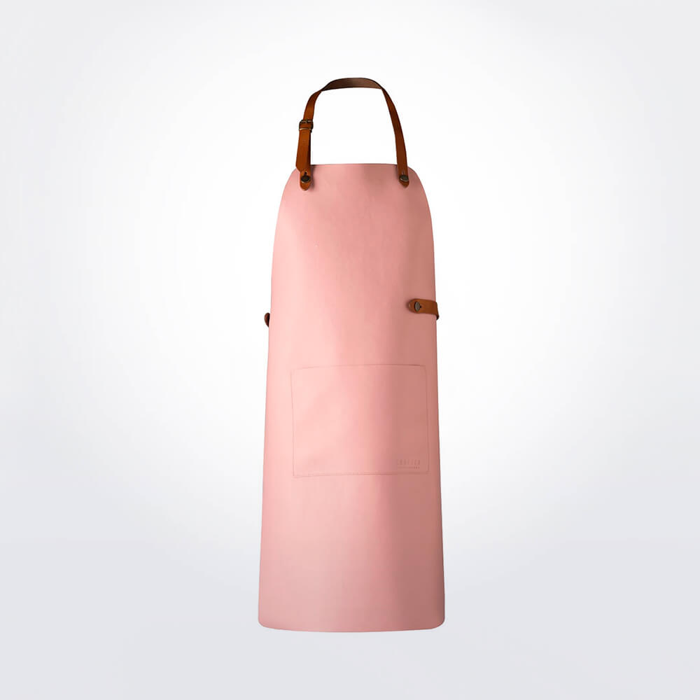 Pink-leather-apron