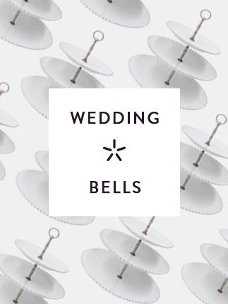 Numen pick wedding bells.